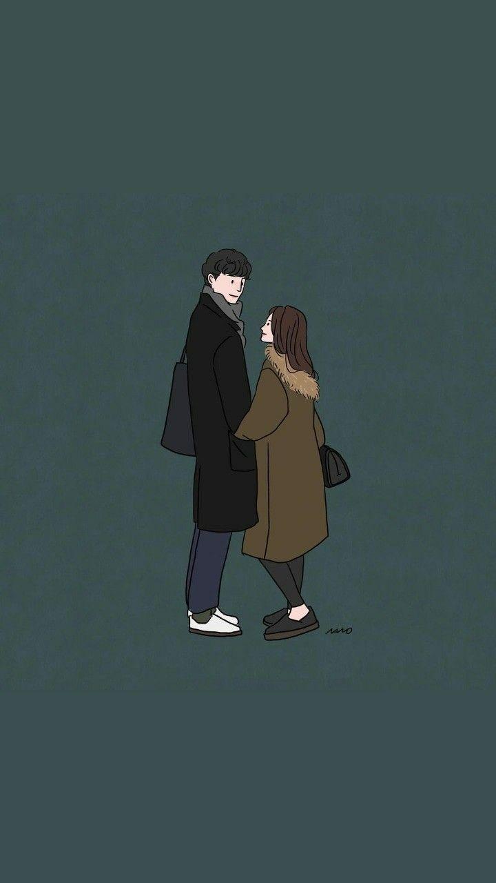 Let Me Down Slowly Relationship Goals Couples Ilustrasi Karakter Gambar Lucu Ilustrasi