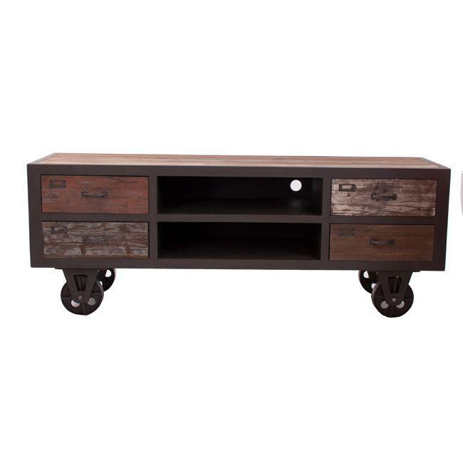 M s de 1000 ideas sobre muebles industriales en pinterest - Muebles industriales antiguos ...