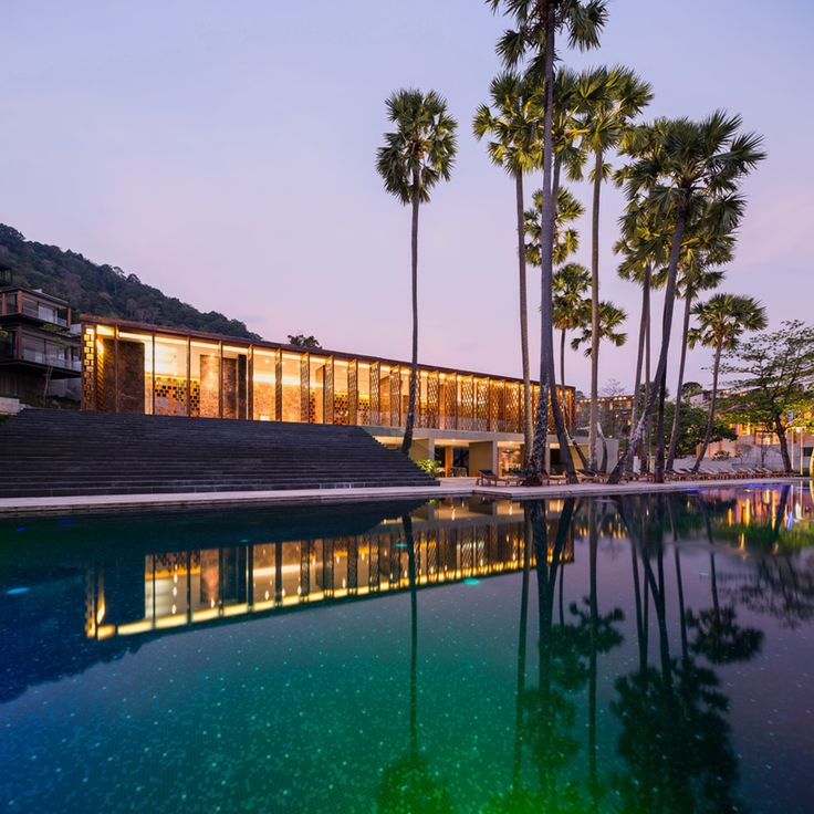 Naka Phuket Hotel Resort Thailand Duangrit Bunnag Dbalp Designboom
