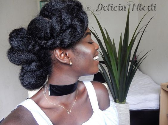 410 best natural hairstyles images on pinterest black women ebony 17 stunning braided hairstyles so easy you can actually do them yourself solutioingenieria Choice Image