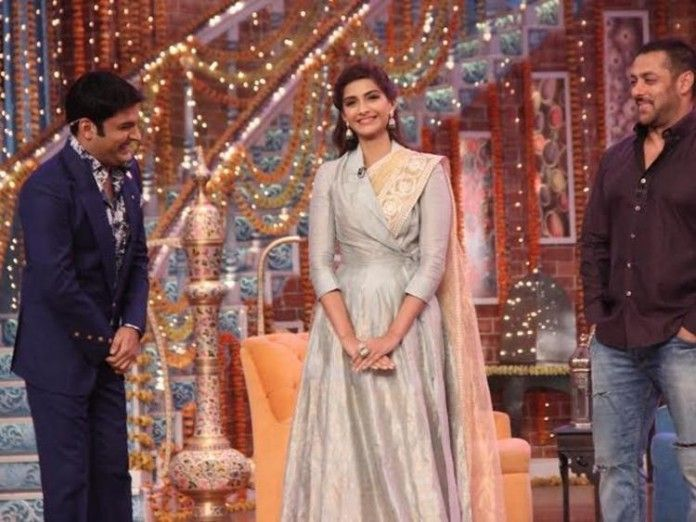 Sonam Kapoor and Salman Khan Promotes Prem Ratan Dhan Payo on Comedy Nights With Kapil-7