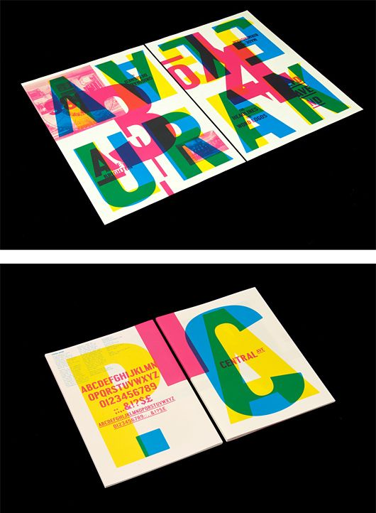 Central Avenue Type Specimen by StudioMakgill | Inspiration Grid | Design Inspiration