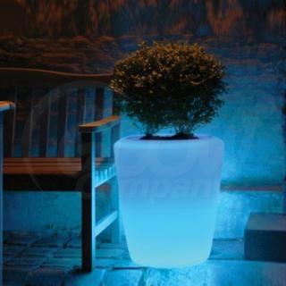 Glow in the Dark Terra Cotta Pots