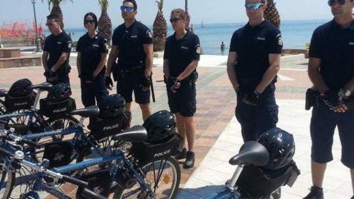Με...βερμούδες και ποδήλατα οι αστυνομικές περιπολίες στην Κατερίνη
