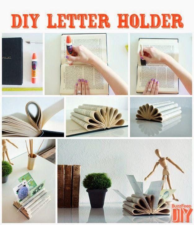 DIY recicla un libro