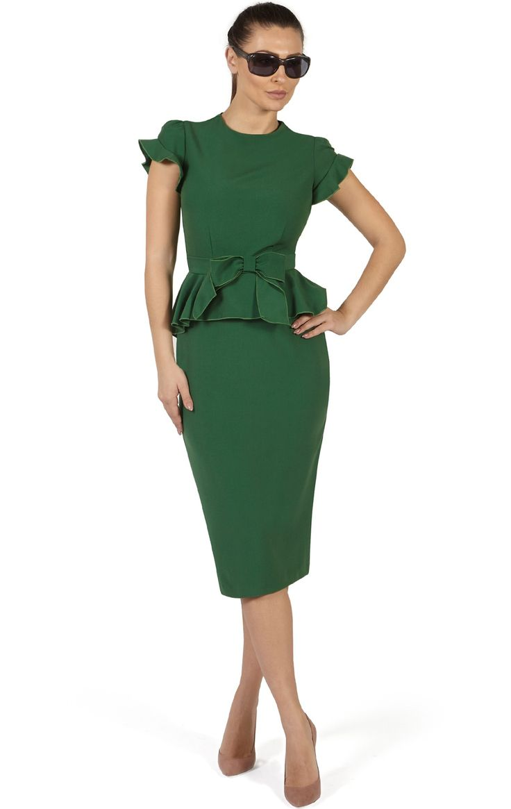 31 best bodycon dress for big boobs images on pinterest for Peplum dresses for wedding guest