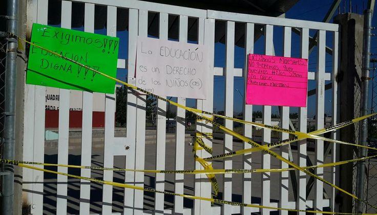 Cierran primaria en Rinconada Los Nogales para exigir maestro   El Puntero