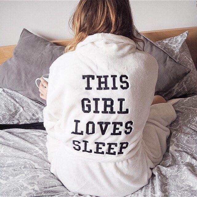 New Look Girl Loves Sleep Dressing Gown