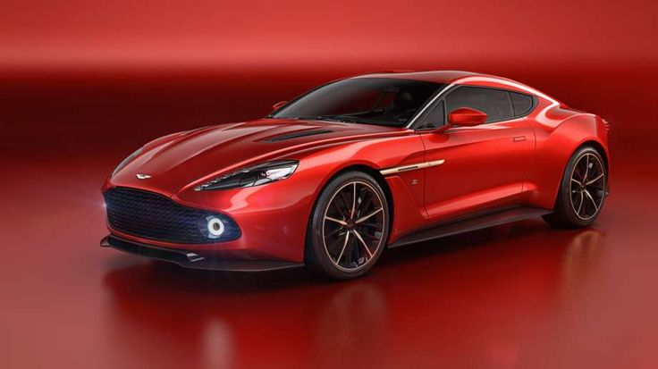 The Aston Martin  Vanquish Zagato Concept. Photo: Aston Martin