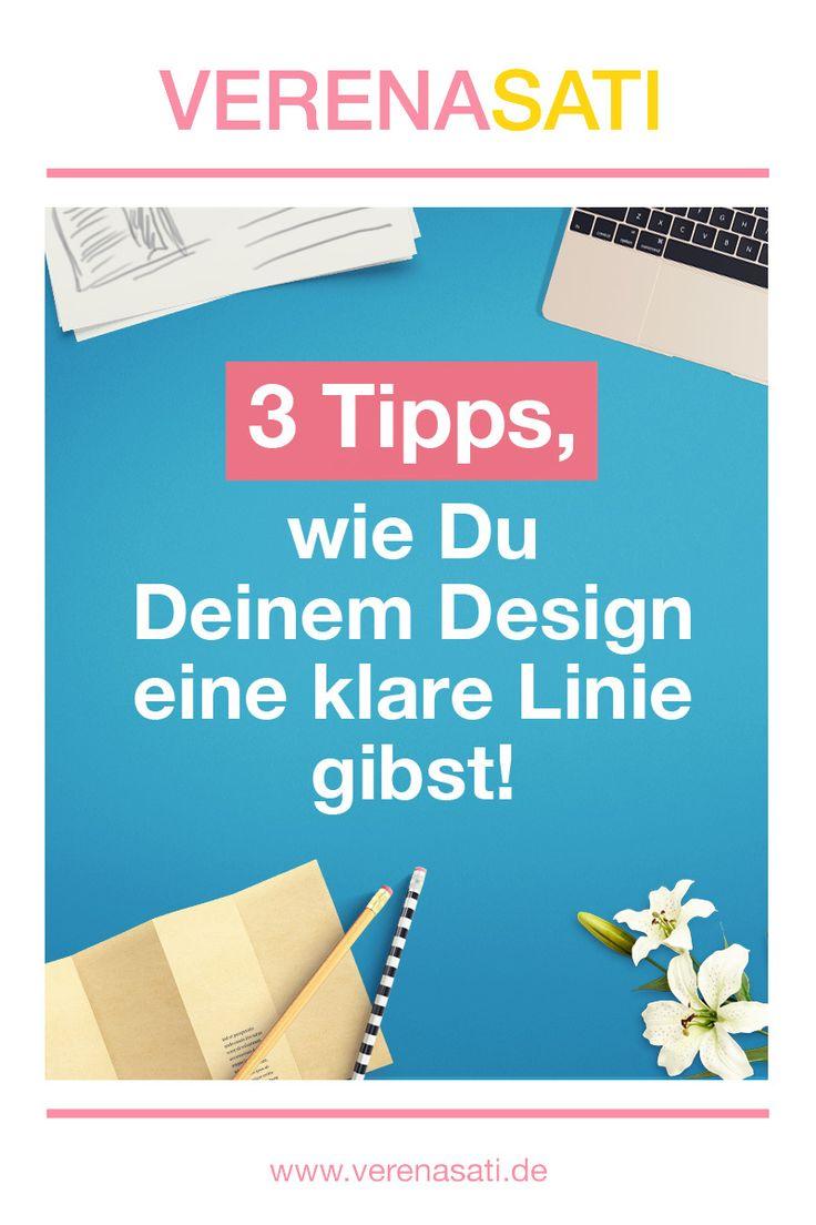 Willst Du mit Deinem Design überall wiedererkannt werden? Soll jeder wissen, dass Du es bist, wenn sie Dein Design sehen? Dann sind diese 3 Tipps heute für Dich! ;-)     Warum Du eine klare Linie brauchst Dein Design hat einen Sinn. Du gestaltest es nicht nur, damit Dein Unternehmen nach Aussen hin schön aussieht. Dein Design