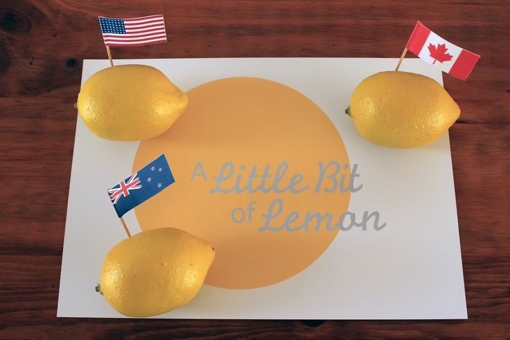 We've broadened our horizons! A Little Bit of Lemon is now shipping selected products to the USA, Canada and New Zealand :)