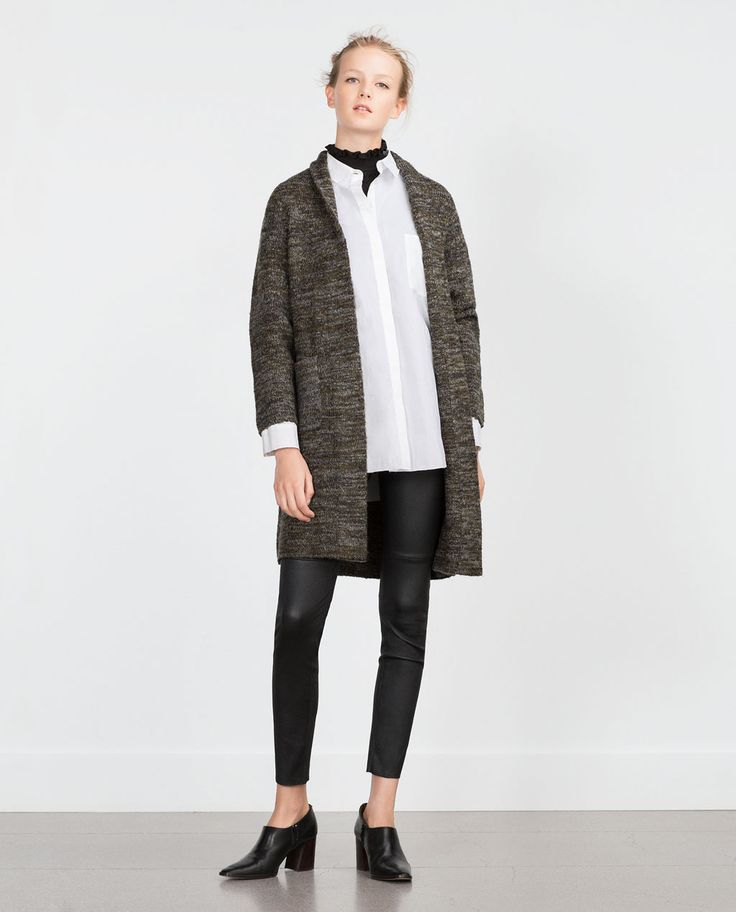 LONG CARDIGAN-Jackets-WOMAN | ZARA Canada