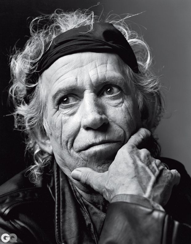 Keith Richards by Mark Seliger