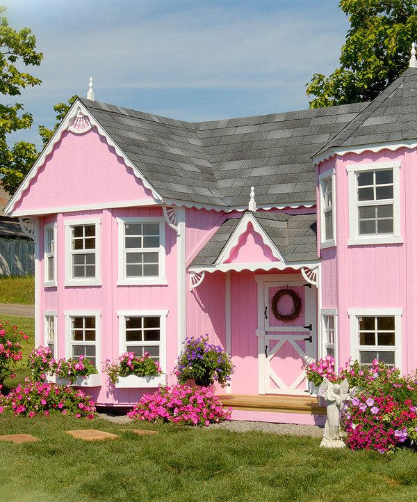 25 unique playhouse kits ideas on pinterest kid for Kit di cabina e cottage
