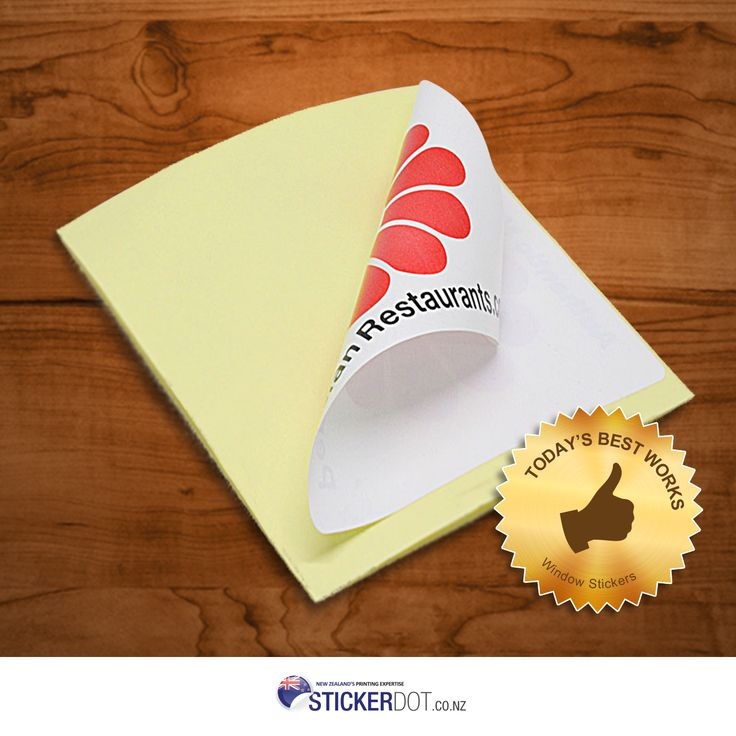 Turn any window into a decorative display with customised #WindowStickers. Get your own Window #Stickers now at the most affordable prices.