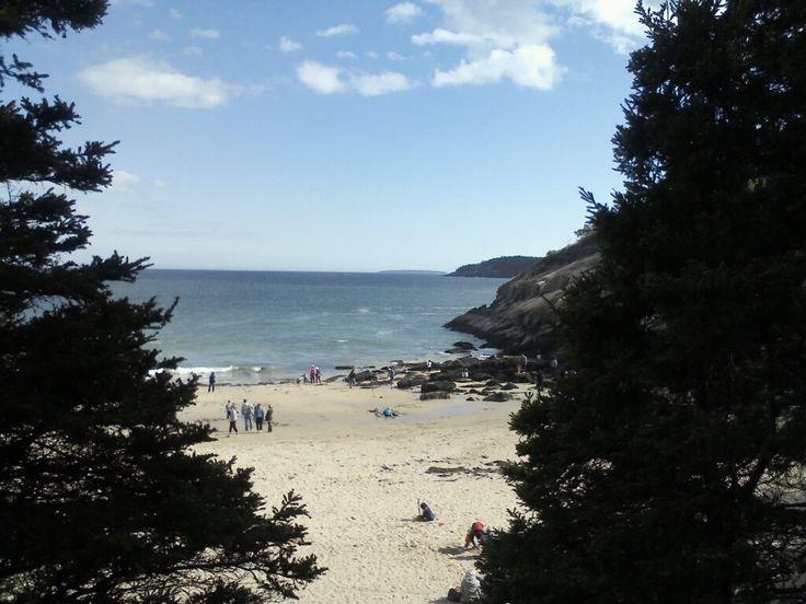 Acadia National Park, Sandy Beach Maine