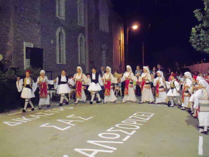 Dikastro village, traditional dance festival