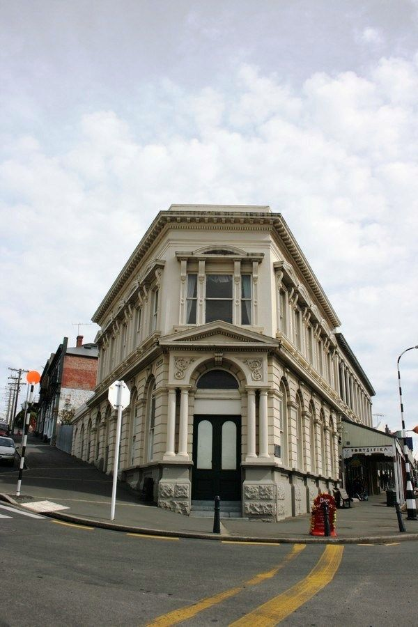 PORT CHALMERS.   Bank of New Zealand — Port Chalmers, New Zealand