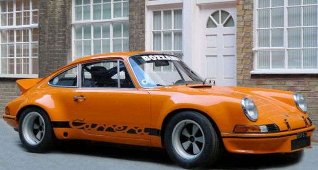 1973 Porsche 911 RSR 2.8 in Signal Orange