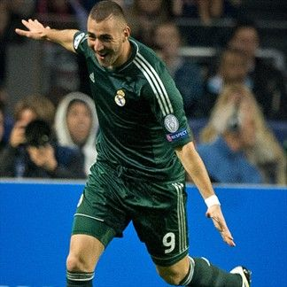 Karim Benzema, Real Madrid. | Ajax 1-4 Real Madrid 4. 03.10.12.