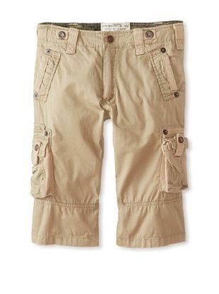 81% OFF Alpha Industries Boy's Austin Cargo Shorts (Sand)