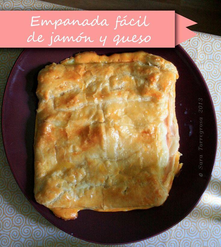 El pegotiblog - hecho a mano: Receta: empanada fácil de jamón y queso