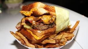 Image result for grilled cheese burger