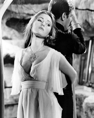 Jane Seymour as Solitaire (and Roger Moore as Bond) in Live and Let Die, 1973