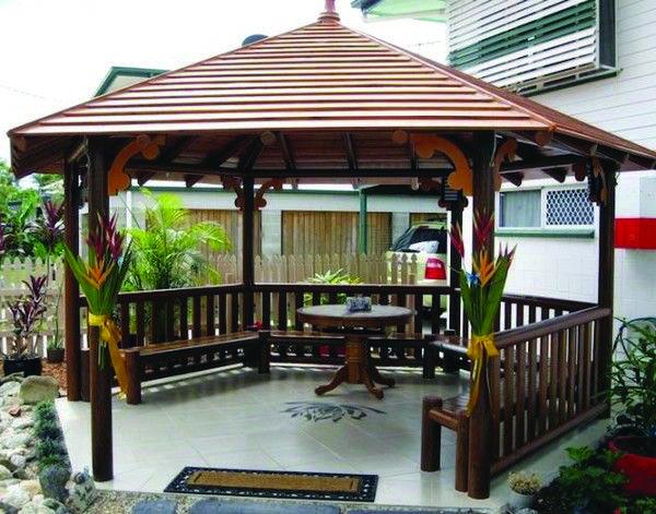 Gazebos to Create Your Patio Area a Social Location - Dova Home | Patio  gazebo, Backyard cottage, Gazebo