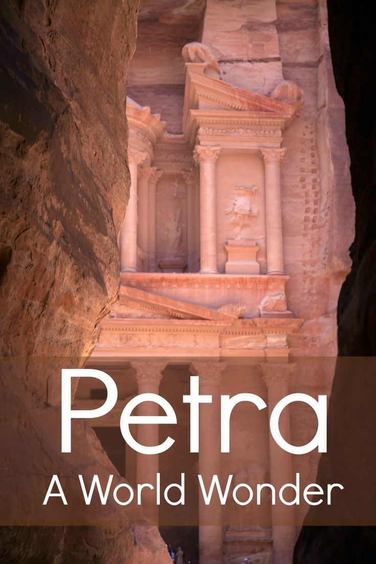 The city of Petra in Jordan is mostly known for the Treasury and the large canyon, the Siq, leading to it. There's so much more to see though; a whole necropolis.