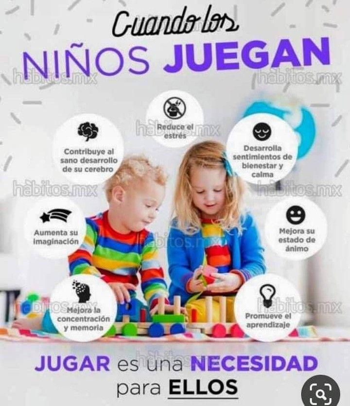 Con El Aprendizaje A Través Del Juego Los Niños Logran Mayores Logros Académico Inscribe A Tu En 2020 Educacion Emocional Infantil Psicologia Niños Educación De Niños