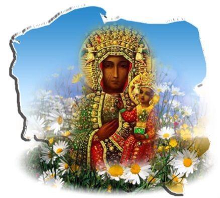 Czarna Madonna (Matka Boska) z Częstochowy.   Królowa Polski