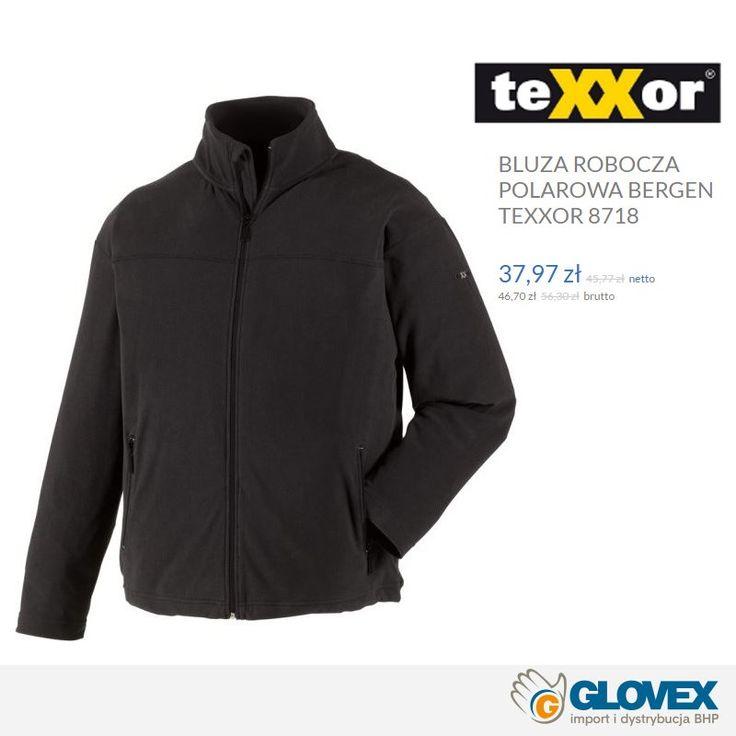 Bluza polarowa BERGEN #teXXor - robocza odzież klasy Premium - teraz w promocyjnej cenie! 37,97 zł  netto