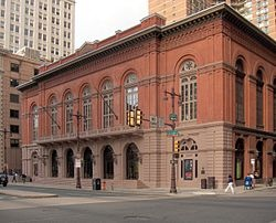 Academy of Music, Philadelphia, former home of the Philadelphia Orchestra.