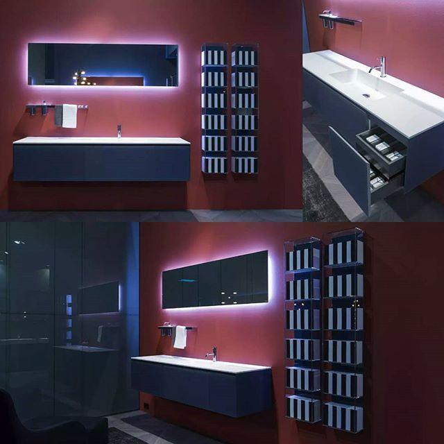 Коллекция TEMPRA 2014 #antoniolupi Дизайнер Nevio Tellatin. Коллекция выполнена полностью из закаленного стекла. #smaltaitaliandesign #Smalta #coffeeandproject #coffeeproject #bathroom #interiordesign #luxe #antoniolupidesign #дизайн_интерьера #мебельдляванной
