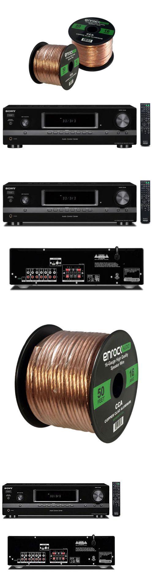 Accessory Bundles: Sony Strdh130 2-Channel Stereo Am Fm Receiver, 50Ft 16Gauge Enrock Speaker Wire -> BUY IT NOW ONLY: $165.99 on eBay!