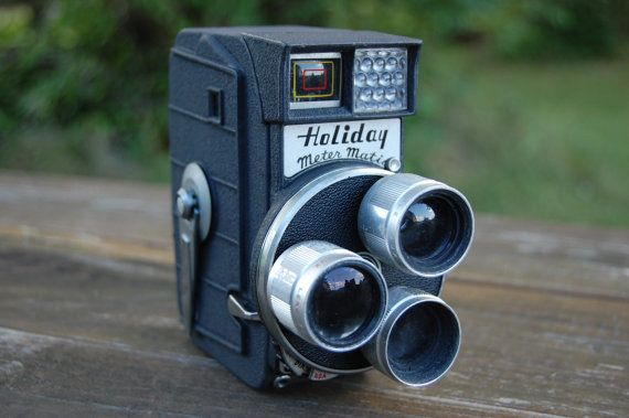 Vintage Holiday Meter Matic 8mm Movie Camera