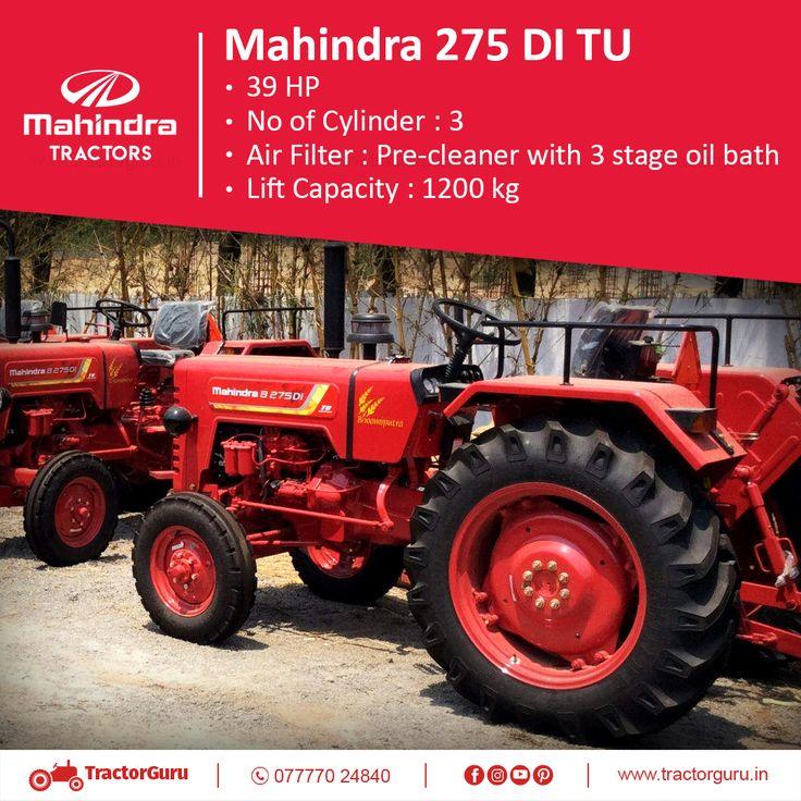 Mahindra 275 Di Tu Tractors Tractor Price Power Take Off