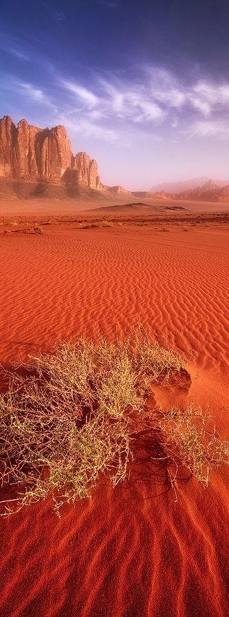 Desierto de Wadi Rum, Jordania.