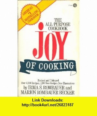 9 best ebooks online images on pinterest ebooks online tutorials the joy of cooking single volume edition 9780452254251 irma s rombauer fandeluxe Image collections