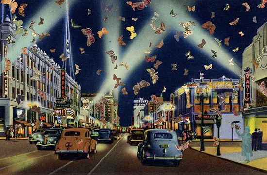 0412_Butterfly_Man.jpg _Peter Blake, 'The Butterfly Man, Los Angeles,' 2010.