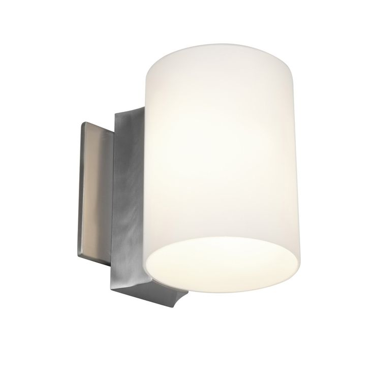 Bath. Access 'Taboo' 1-light Brushed Steel Wall Sconce | Overstock.com