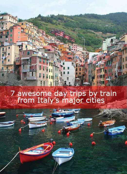 Italy day trips by train: Milan to Varenna Milan to Turin