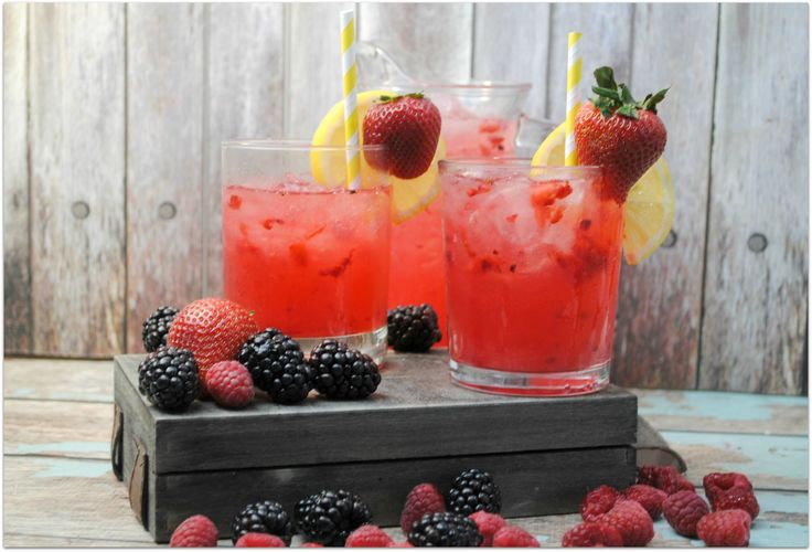 This refreshing triple berry lemonade is just what you need on a warm day, or anytime you feel like a cool and delicious drink! Such an easy recipe.