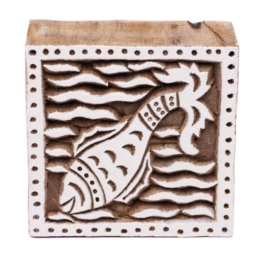 Stamp for batik - fish