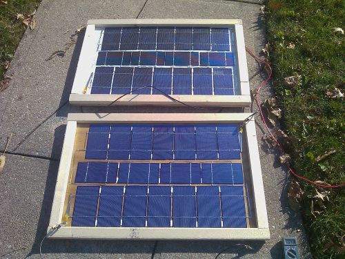 Make your own solar panels! Go off the grid!