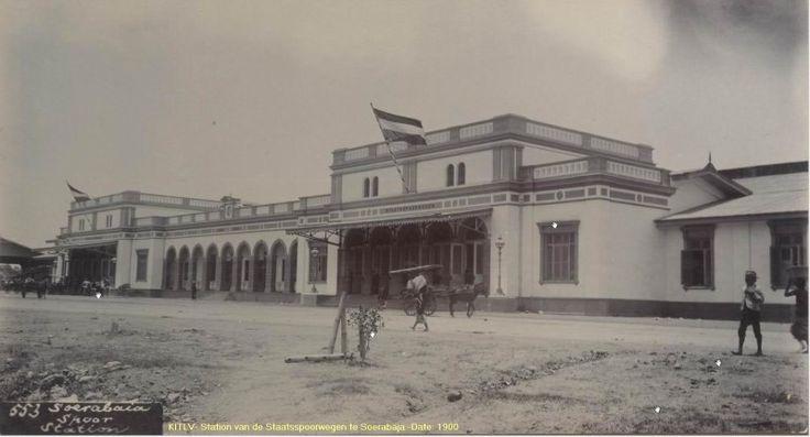 Stasiun Gubeng 1900