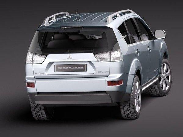 3d model mitsubishi outlander 2011 suv - Mitsubishi Outlander 2011... by squir
