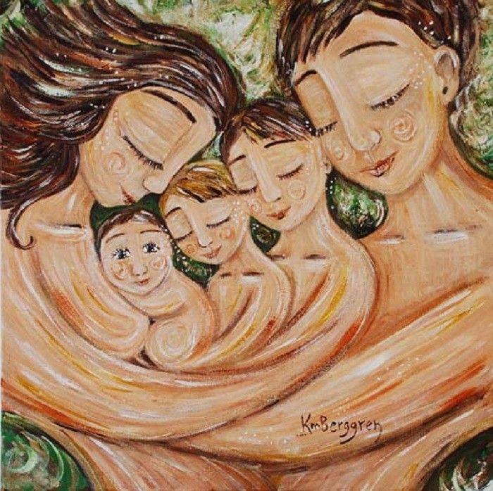 mãe de três