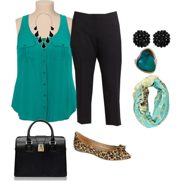 """plus size simple and cute office look"" by kristie-payne on Polyvore"